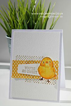 honeycomb happiness Stampin up