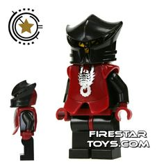 LEGO Castle - Knights Kingdom II - Shadow Knight Vladek Armour | Castle LEGO Minifigures | LEGO Minifigures | FireStar Toys