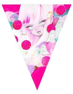 Crowded Teeth, A Super Sweet Group Show - Eimi Sweet Group, Viera, Girl Cartoon, Tumblr Posts, Art Girl, Cute Girls, Illustration Art, Kawaii, Artist