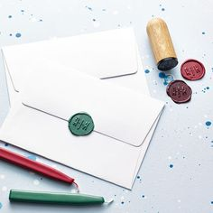 Personalised Monogram Wax Seal Stamp