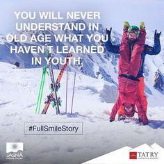 """""""#UsmevPlnyPribehov  #FullSmileStory  #ZaPrzyjemnosc  #jasna #jasnanizketatry"""" Old Age, Skiing, Youth, Learning, Instagram Posts, Ski, Studying, Teaching, Young Adults"""