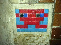 Space Invader by d m, via Flickr