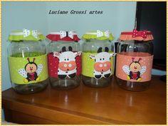 potes decorados para bebe em eva - Pesquisa Google
