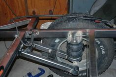 Resultado de imagen para off road trailer suspension