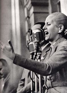 """My biggest fear in life is to be forgotten."" -Eva Peron"