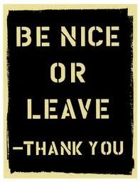 Be Nice because it is what you are supposed to do, regardless of all the mean people. Don't choose to join them at below average. Great Quotes, Quotes To Live By, Me Quotes, Inspirational Quotes, Motivational, Attitude Quotes, The Words, Mean People Suck, Nice People