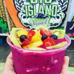 That looks amazing!! @islandbowls  Everyone is falling in love with our new pretty pink Dragon Fruit Bowls!!! Refreshingly delicious!  Eat healthy Live Happy! :) @staugustinebuzz @smoothiebowls @pitayaplus @smoothie_bowl @health_porn @detoxpage @jaxtruckies #bigislandbowls #staugustine #dragonfruit #pitaya #pitayabowl #staug #healthy #organic #eatclean #food #foodie #foodporn #foods #healthyeats #yum