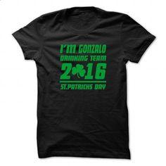 GONZALO STPATRICK DAY - 99 Cool Name Shirt ! - t shirt maker #cheap sweatshirts #orange hoodie