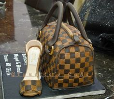Compilation of my designer Bag Cakes Louis Vuitton Bag & Shoe