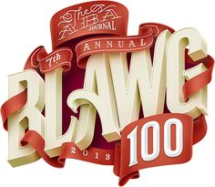 The ABA Journal: Blawg 2013 cover artwork on Behance