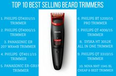 Top 10 Best selling beard trimmers