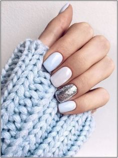 How To Do Shellac Nails At Home (In 8 Incredibly Simple Steps!) : Blue manicure - How To Do Shellac Nails At Home - The Super Simple Step by Step Guide Shellac Nails At Home, Nail Manicure, Cute Shellac Nails, Cnd Shellac, Diy Nails, Shellac Designs, Nail Art Designs, Nails Design, Winter Wedding Nails