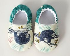 Baby Shoes Baby Moccasins Childrens Indoor Shoes by weepereas