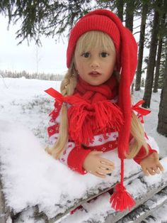 Sissel Bjorstad Skille dolls / This photos is taken by May Britt Husom