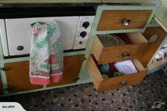 1956 Starliner Special Vintage Caravan | Trade Me Vintage Caravans, Vintage Campers, Vintage Trailers, Retro Caravan, Caravan Ideas, Rv Campers, Travel Trailers, Go Camping, Motorhome