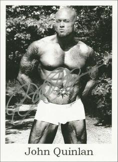 Tattooed Model John Quinlan Calvin Klein Autographed 8×10 via Contest Giveaway :) #JohnQuinlan