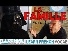 Learn French FAMILY MEMBERS Vocabulary - La Famille en Français Part 1 + FUN! (IN FRENCH) - YouTube French Lessons For Beginners, Learn French Beginner, French People, Language Lessons, France, Vocabulary, Learning, Words, Fun
