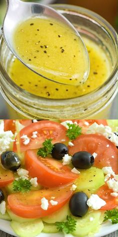 Encantador This Apple Cider Vinegar Salad Dressing is my favorite homemade salad dressing, . This Apple Cider Vinegar Salad Dressing . Tasty, Yummy Food, Cooking Recipes, Healthy Recipes, Apple Recipes, Sauce Recipes, Salad Dressing Recipes, Salad Dressing Homemade, Homemade Salad Dressings