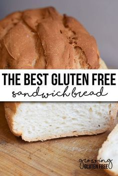 If you are tired of buying holy store bought bread, check out this simply amazing recipe for the BEST Gluten free Sandwich Bread ever! - The Most Healthy Foods Gluten Free Cooking, Gluten Free Desserts, Gluten Free Breads, Gluten Free Homemade Bread, Gluten Free Sugar Free Bread Recipe, Lactose Free Bread, Gluten Free Churros Recipe, Gluten Free Buns, Easy Desserts