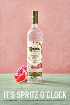 In the summertime, we drink pink. Here's to botanical spritzes all season long! Alcohol Drink Recipes, Sangria Recipes, Hair And Skin Vitamins, Ketel One Vodka, Colorful Cocktails, Drink Specials, Mixed Drinks, Yummy Drinks