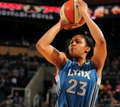 Maya Moore.. you should teach me your shooting skills!