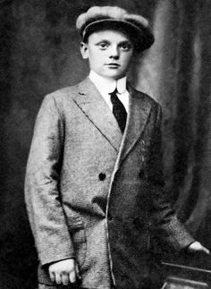 Perhaps people, and kids especially, are spoiled today, because all the kids today have cars, it seems. When I was young you were lucky to have a bike. James Cagney