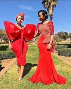 south african traditional dresses for black girls - shweshwe ShweShwe 1 African Print Wedding Dress, African Wedding Attire, African Print Dresses, African Print Fashion, African Fashion Dresses, African Attire, African Dress, Xhosa Attire, African Weddings