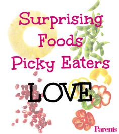 These adventurous-sounding foods should be regulars on your family's menu, according to waiters, taste scientists, teachers, and more! Toddler Nutrition, Healthy Toddler Meals, Healthy Snacks For Kids, Kid Snacks, Healthy Eating, Fussy Eaters, Picky Eaters, Kids Menu, Baby Eating