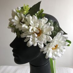 Head band flores tropicais