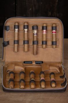 Riverton Leather Cigar Case