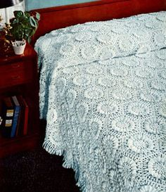 Sunflower Bedspread Pattern - would love to try making this vintage pattern someday!