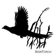 pheasant silhouette - Google-haku
