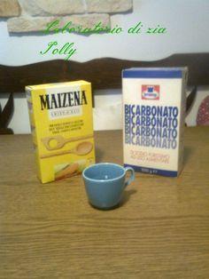 Laboratorio di zia Polly: Come fare la pasta con il bicarbonato e la maizena - Tutorial