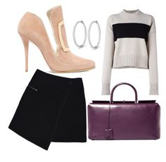 Untitled #4 by anu-lehtonen on Polyvore featuring polyvore, fashion, style, Jil Sander, MARC CAIN, Balmain, Tom Ford and clothing