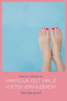 Makkelijk eelt van je voeten verwijderen? (dat doe je zo!) #voetverzorging #happyfeet #beautytip #feet #summerproof Was, Health, Dutch, Health Care, Dutch Language, Salud
