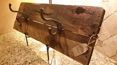 Check out this item in my Etsy shop https://www.etsy.com/listing/215351100/custom-reclaimed-wood-coat-hat-rack