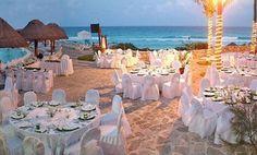 Bodas espectaculares en la playa de Mexico Riviera Maya