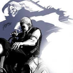 Sons Of Anarchy: Jax Teller by Fabio Govoni
