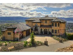 A modern-day castle with unobstructed city and lake views. Kelowna, BC Coldwell Banker Horizon Realty $3,763,441