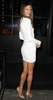 little white dress.  gorgeous