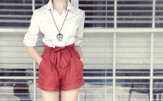 I can't wait until Spring - I love these kind of shorts :)