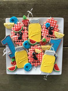 Ants and lemonade Cookies   Cookie Connection