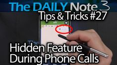 Samsung Galaxy Note 3 Tips & Tricks Episode 27: Hidden Feature, Use Acti...