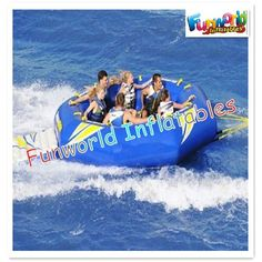 Inflatable water toys towable ski tube towed buoy for sales (wat-576) $500~$3000