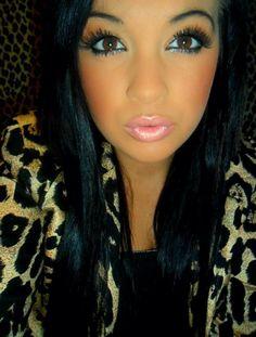 Make up <3 loveee this look