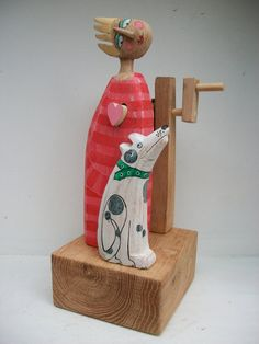 Love machine with dog by OPISHOP on Etsy, £60.00