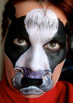 Home Made Halloween Makeup and Face Paint | FAce paint | Pinterest ...