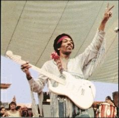Jimmy Hendrix at Woodstock!