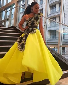 Draped in perfection!Award show ready in this masterpiece, look at the details on this beauty! This is one stunning dress! African Formal Dress, African Prom Dresses, Latest African Fashion Dresses, African Print Fashion, African Dress, African Prints, Maxi Dresses, Latest Fashion, Women's Fashion