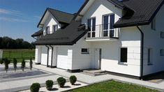 Projekt domu Trivento Termo 121,94 m2 - koszt budowy 175 tys. zł - EXTRADOM Home Fashion, Mansions, House Styles, Home Decor, House, Decoration Home, Manor Houses, Room Decor, Villas